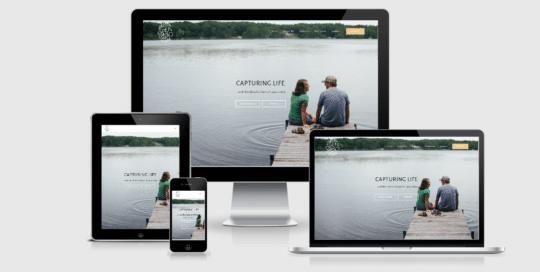 Responsive Custom website