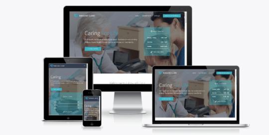 medical website design Minneapolis