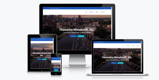 Hiawatha Metalcraft Website
