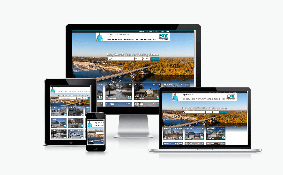 Oakwood Reality's Responsive Website Design